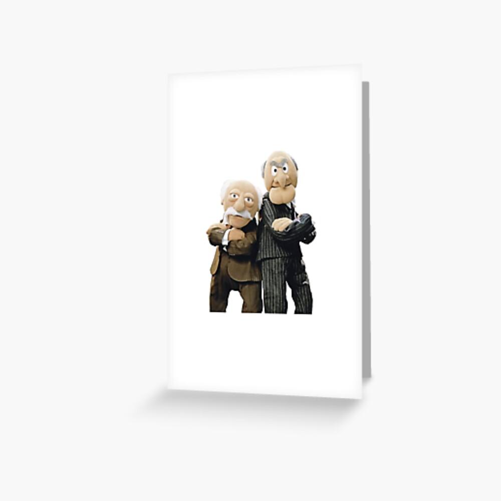 Statler and Waldorf Greeting Card