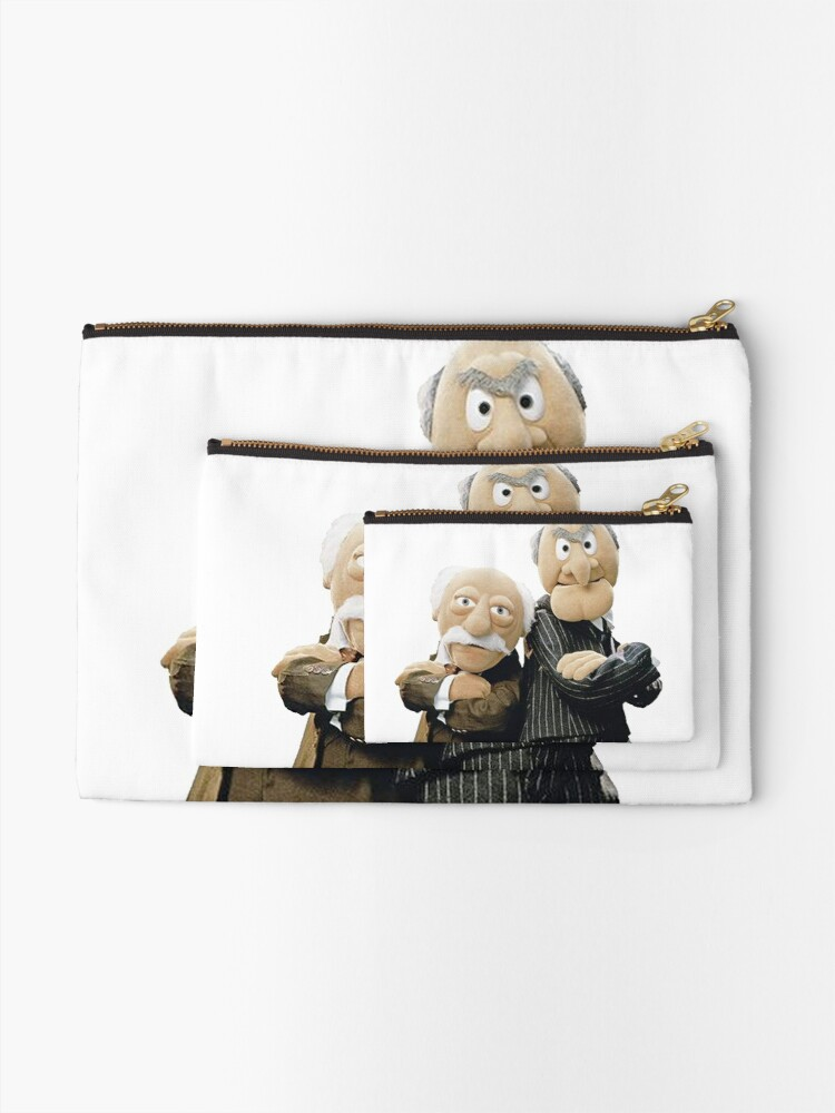 Alternate view of Statler and Waldorf Zipper Pouch
