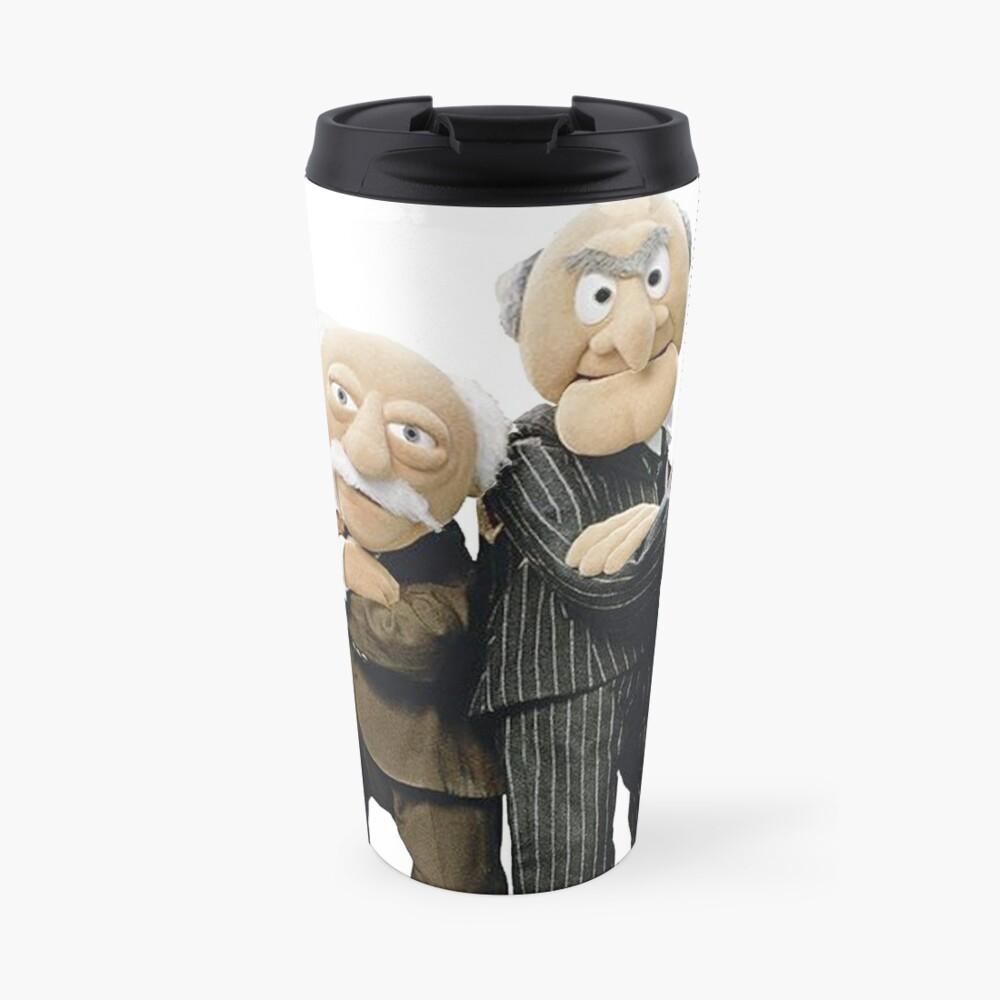 Statler and Waldorf Travel Mug