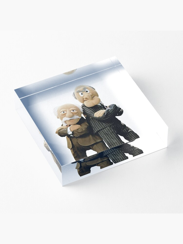 Alternate view of Statler and Waldorf Acrylic Block