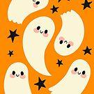 Cute Ghosts by lobomaravilha