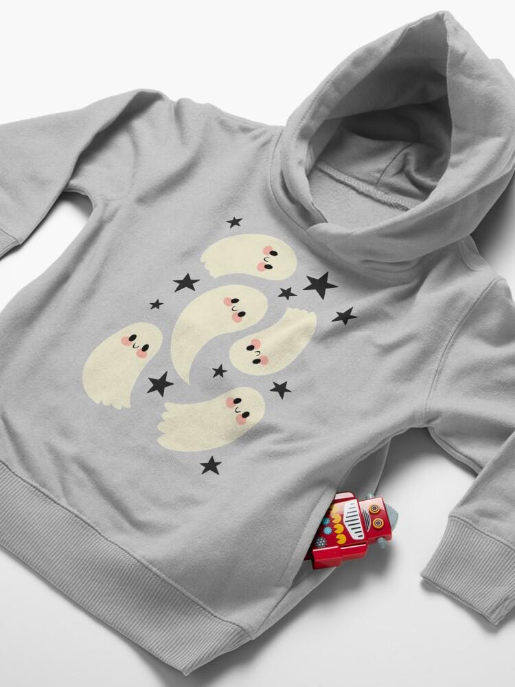 Alternate view of Cute Ghosts Toddler Pullover Hoodie