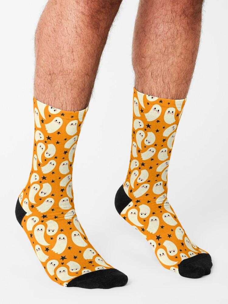 Alternate view of Cute Ghosts Socks