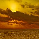 South Pacific Sunset by poinsiana