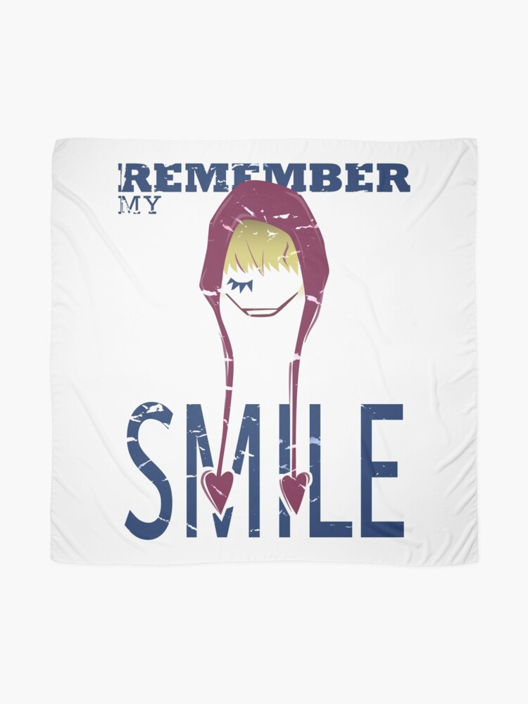 Alternate view of Remember my Smile Scarf