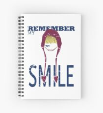 Remember my Smile Spiral Notebook