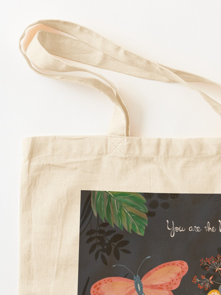 Alternate view of You Are The Universe Tote Bag