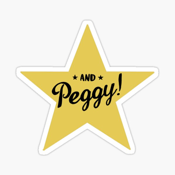 And Peggy!!!! Sticker