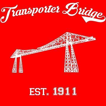 TRANSPORTER BRIDGE by Luckythelab