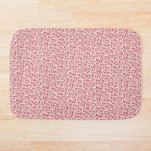 cherry blossom full Bath Mat