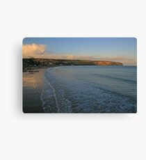 Ballard Down from Swanage Canvas Print
