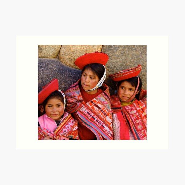 The Quechua of Patacancha; a Threatened Culture Art Print