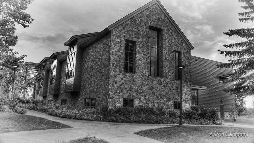 Abram Nesbitt III Academic Commons (end view) by Aaron Campbell
