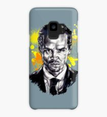 Jim Moriarty + paint Case/Skin for Samsung Galaxy