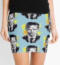 Jim Moriarty + paint Mini Skirt