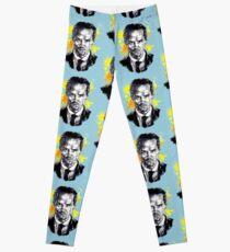 Jim Moriarty + paint Leggings