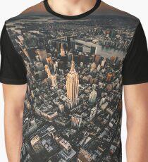 manhattan aerial view Graphic T-Shirt