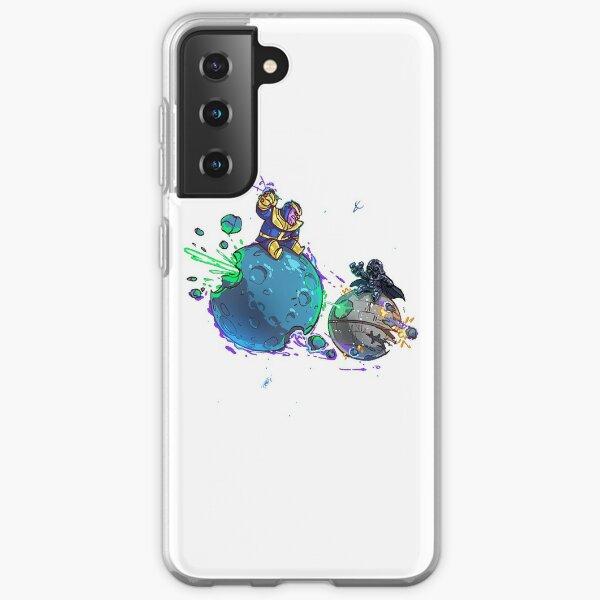 Moon vs Moon Samsung Galaxy Soft Case
