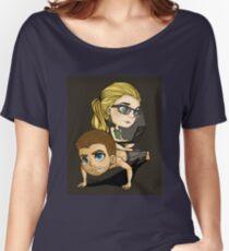 Arrow pushups!  Women's Relaxed Fit T-Shirt