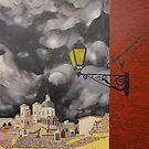 Storm Beginning, Toledo, Spain by Jeffrey DeVore