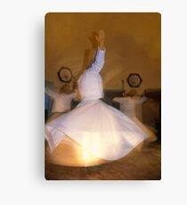 Whirling Dervishes in Cappadocia Canvas Print