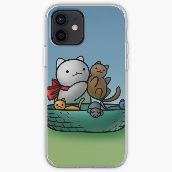 Chemistry Cat & Separating Kittens iPhone Soft Case