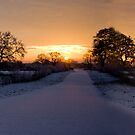 Beautiful Cheshire Sunrise by Adam Costello