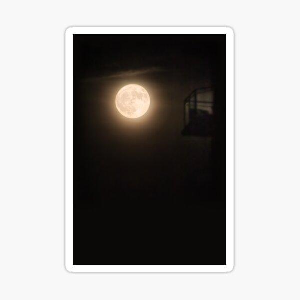 Full Moon Balcony Sticker