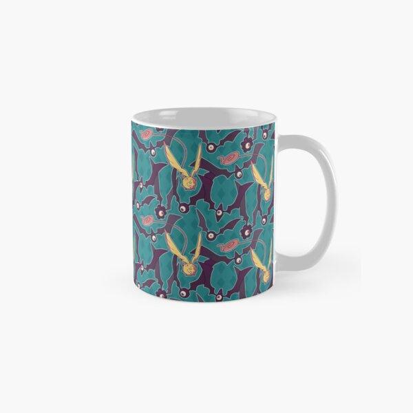 Golem Pattern Blue Classic Mug