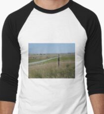 Little Pump on the Prairie Men's Baseball ¾ T-Shirt