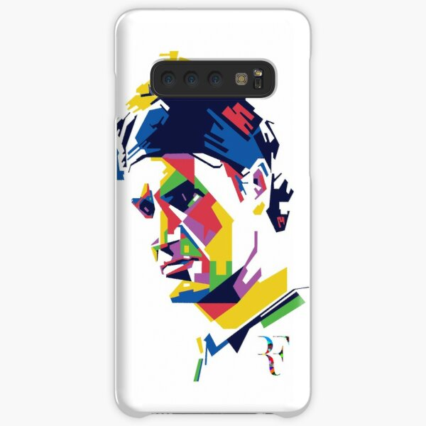 Roger Federer art Samsung Galaxy Snap Case