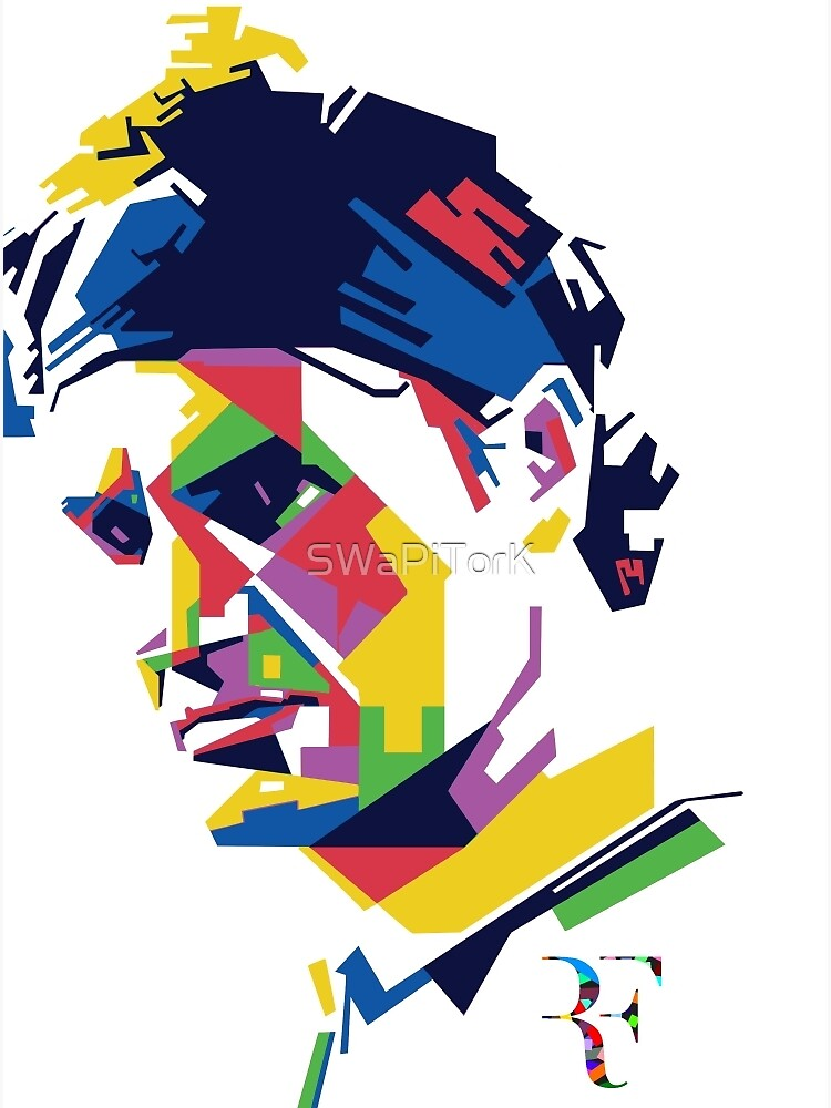 Roger Federer Kunst von SWaPiTorK
