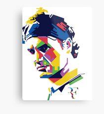 Roger Federer art Metal Print