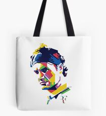 Roger Federer art Tote Bag