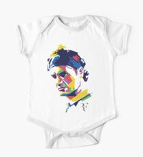 Roger Federer art One Piece - Short Sleeve