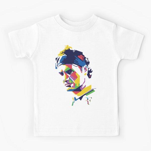 Roger Federer art Kids T-Shirt