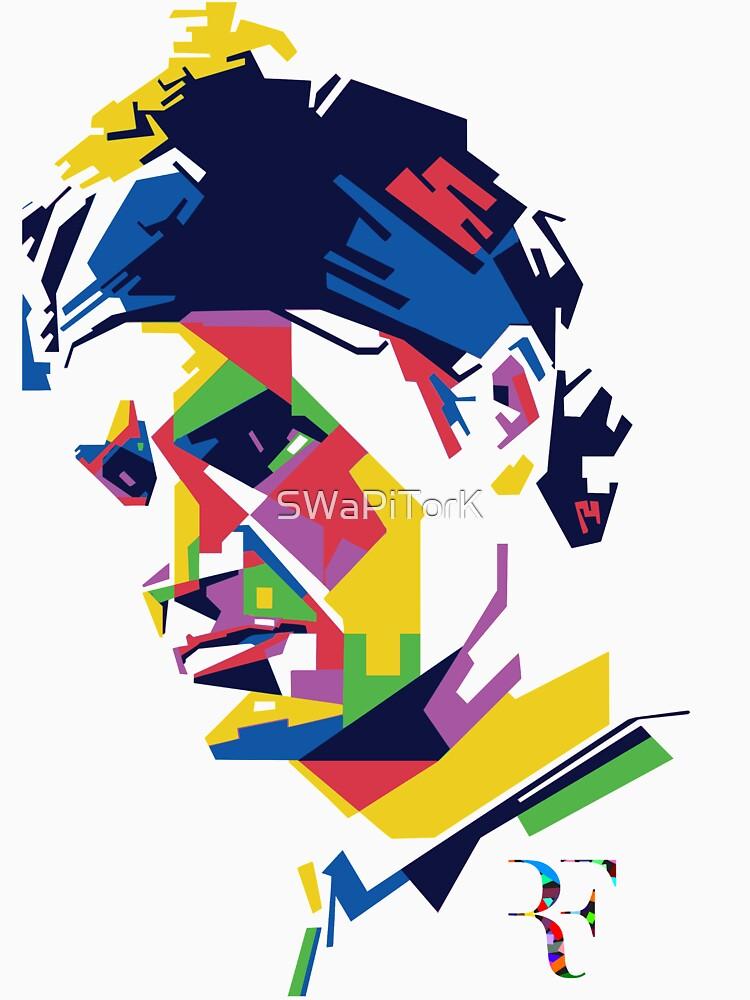 Roger Federer art by SWaPiTorK