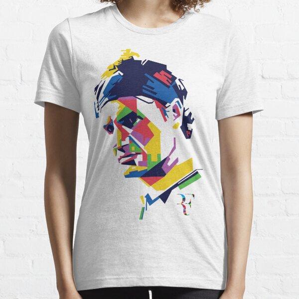 Roger Federer Kunst Essential T-Shirt
