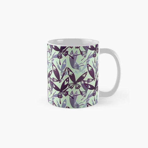Tease Pattern Green Classic Mug