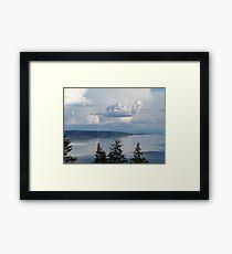 Blue Nature Framed Print