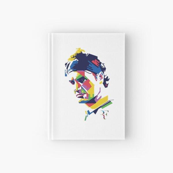 Roger Federer art Hardcover Journal