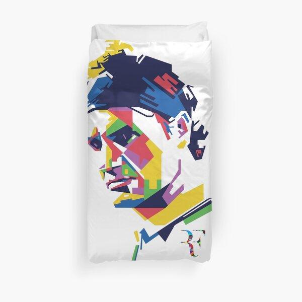 L'art de Roger Federer Housse de couette