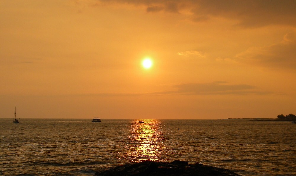 Hawaiian Sunset by Ryan Fritch