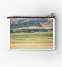 Alfalfa Field in Montana Studio Pouch