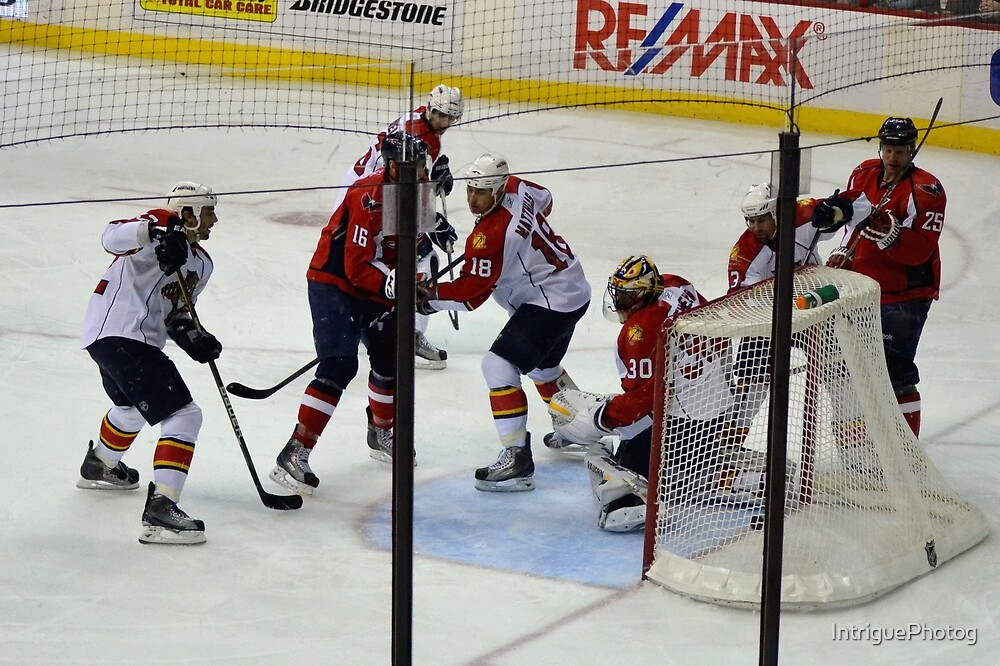 Washington Capitals vs. Florida Panthers: First Goal by Caps by IntriguePhotog