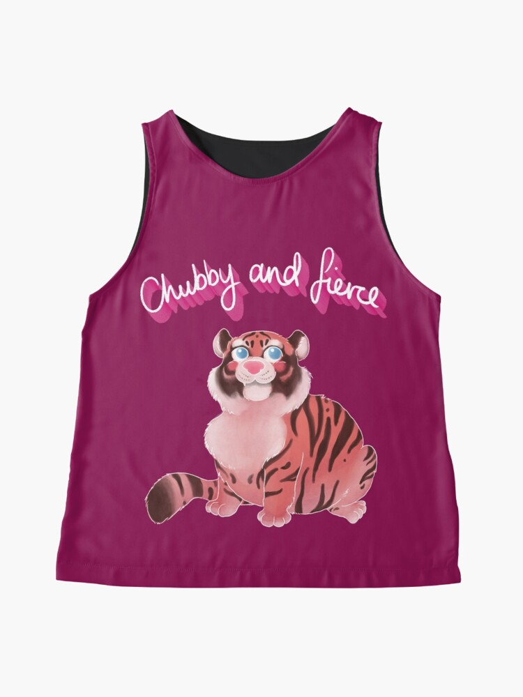 Alternate view of Chubby And Fierce Sleeveless Top