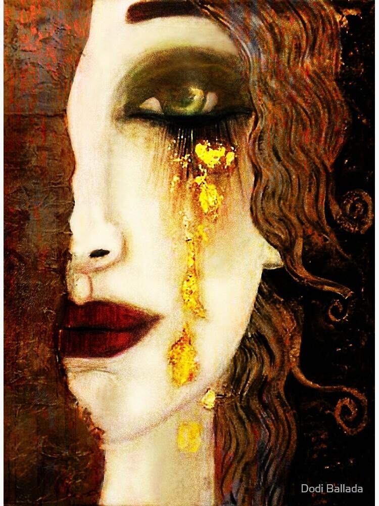 Golden Tears Freya's Tears of Gold Anne Marie Zimmerman (School of Klimt) by timelessfancy