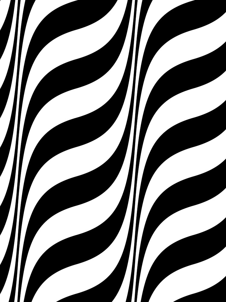 Black And White Optical Illusion Graphic by artsandsoul