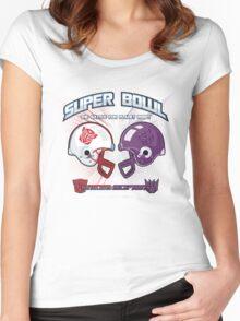 Intergallactic Super Bowl Women's Fitted Scoop T-Shirt