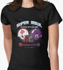 Intergallactic Super Bowl Women's Fitted T-Shirt
